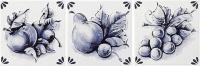 Delft 0007094  Decoro Inserto Fruits A, B, C 10*10