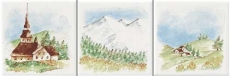 Neopolis 0008900 Bianco lucido Montagne ABC 10*10