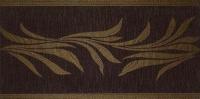 Flax Bordura Kenzia Moka 24,5*49,5